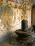 Shiva Lingam in 10th Century Temple of Sri Brihadeswara, Thanjavur, India Photographic Print