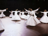 Taken at the Royal Albert Hall, London, the Whirling Dervishes of Konya, Turkey, Eurasia