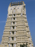 Chamundeswara Temple, Chamundi Hills, Mysore, Karnataka, India Photographic Print