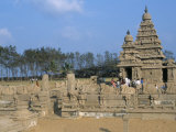 Shore Temple at Mahabalipuram, Unesco World Heritage Site, Chennai, Tamil Nadu, India Photographic Print
