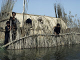 Marsh Arabs Near Qurna, Iraq, Middle East
