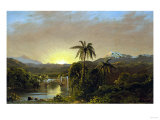 Sunset in Ecuador, 1854