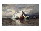 Fishing Boats and Icebergs