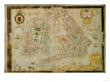 A General Description of England and Ireland, 1564 Giclee Print