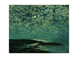 Moonlight, Isle of Shoals, 1892 Art Print