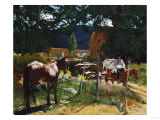One in the Pasture Giclee Print