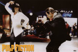 Pulp Fiction - Twist Contest (Travolta and Thurman) Movie Poster Poster