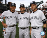 Alex Rodriguez, Jorge Posada, and Derek Jeter