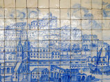 Azulejos, Portugal's Painted Tiles at the Museo Nacional Do Azulejo, Lisbon, Portugal
