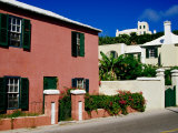 Houses on York Street, St. George's Island, St. George's Parish, Bermuda