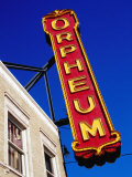 Orpheum Theater Sign, Memphis, Tennessee