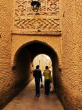 Tunnel with Intricate Brickwork in Ouled El-Hadef, Tunisia