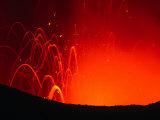 Yasur Volcano Lava Explosion, Tanna Island, Tafea, Vanuatu