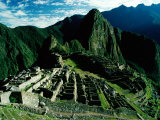 The Ancient Inca City of Machu Picchu, Machu Picchu, Cuzco, Peru