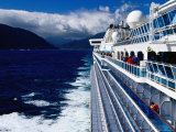 Cruise Ship, Dusky Sound, Fiordland National Park, New Zealand