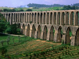 The 17th Century Aqueduto de Pegoes, Tomar, Portugal
