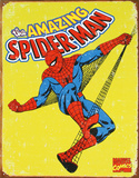 Spider-Man The Amazing Spider-Man No.601 Cover: Mary Jane Watson The Amazing Spider-Man #700 Cover: Spider-Man, Venom Marvel Comics Retro: The Amazing Spider-Man Comic Book Cover No.100, 100th Anniversary Issue (aged) Marvel Comics-Spider Man-Retro