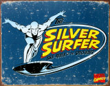 Silver Surfer Tin Sign