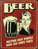 Beer Tin Sign