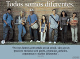 Todos Somos Diferentes- We're All Different Art Print