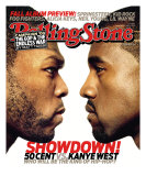 50 Cent vs. Kanye West, Rolling Stone no. 1035, September 2007
