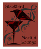 Blackbird Martini Lounge Red