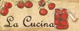 La Cucina, Tomatoes Art Print