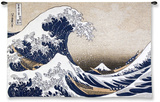 The Great Wave at Kanagawa (from 36 views of Mount Fuji), c.1829 Wall Tapestry