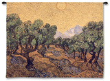 Olive Trees, c.1889 Wall Tapestry