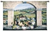 Vino de Tuscany Wall Tapestry
