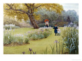 Walk in the Garden Giclee Print