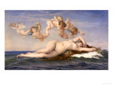 The Birth of Venus, c.1863 Giclee Print