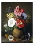 Still Life of Camellias and Anemone