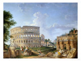 Buy The Colosseum, Rome at AllPosters.com