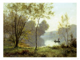 Late Summer Afternoon on the Lake Giclee Print
