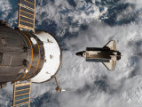 Buy Space Shuttle Atlantis After It Undocked from the International Space Station on June 19, 2007 at AllPosters.com