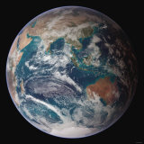 Planet Earth Eastern Hemisphere, NASA Satellite Composite