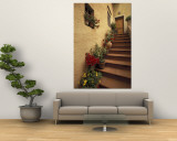 Buy Tuscan Staircase, Italy at AllPosters.com