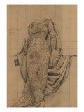 Study for Figure of Botany of the Jefferson Building, Library of Congress, c.1896