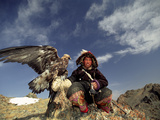 Kook Kook is from Altai Sum, Golden Eagle Festival, Mongolia Photographic Print
