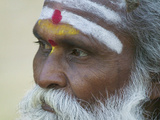 Portrait of a Holy Man, Varanasi, India