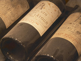 Chateau Latour from Pauillac, Medoc, Bordeaux, Ulriksdal Vardshus Restaurant, Stockholm, Sweden