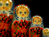 Russian Handicrafts, Matrushka Nesting Dolls