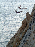 Cliff Divers, Guerrero, Mexico