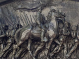 Robert Gould Shaw in Command of Black Troops of the 54th Massachusetts Regiment