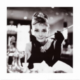 Audrey Hepburn in Breakfast at Tiffany's Art Print