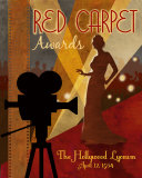 Red Carpet Awards Art Print