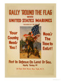 Rally 'Round the Flag with the United States Marines