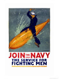 Join the Navy, the Service for Fighting Men, c.1917