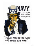 Navy! Uncle Sam is Calling You, c.1917